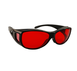 Red Tinted Sunglasses  red glasses treat achromatopsia somnilight light therapy