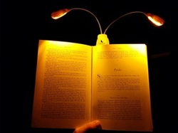 Amber LED Booklight