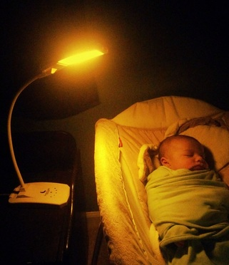 Warm, Dim Lamp for Nursery